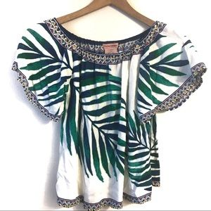Flying Tomato Palm Print Top